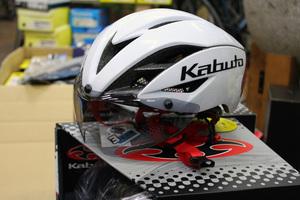 OGKのエアロ!ヘルメット