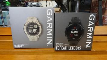 GARMIN ForeAthleteシリーズを取り扱います